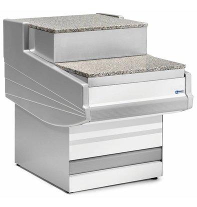 Diamond Kassa-sectie   Werkblad Graniet   1000x1040x670/915(h)mm