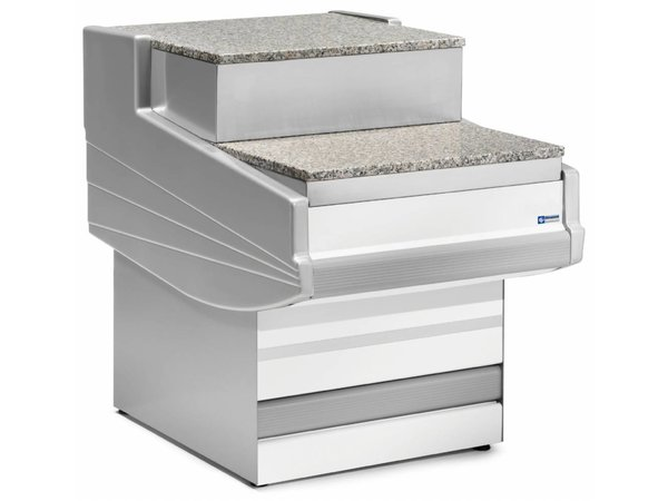 Diamond Kassenbereich | Arbeitsplatte Granit | 1000x1040x670 / 915 (H) mm