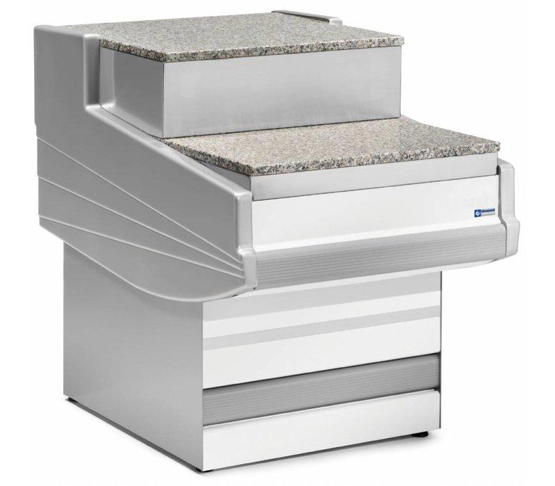 Diamond Kassa-sectie | Werkblad Graniet | 1000x1040x670/915(h)mm