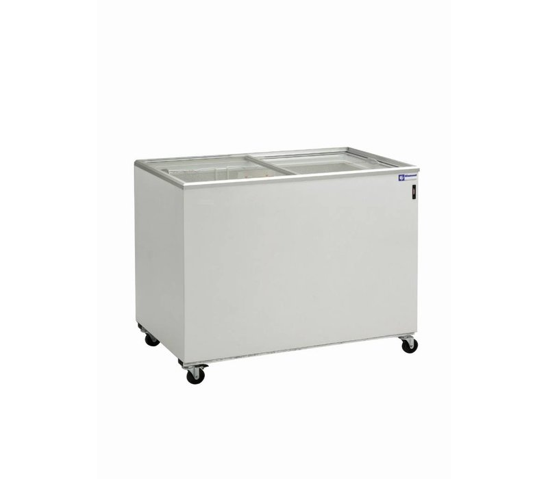 Diamond Gefrierschrank Showcase - Glasschiebedeckel - 400 Liter - 131x64x (h) 88cm