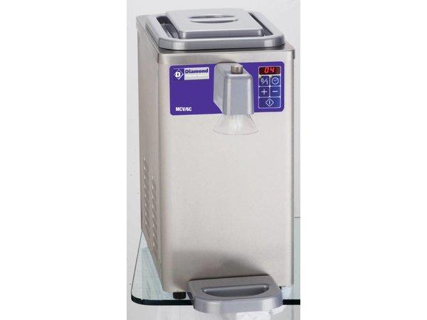 Diamond Cream Machine - 300liter / h - 6 Liter - Edelstahl