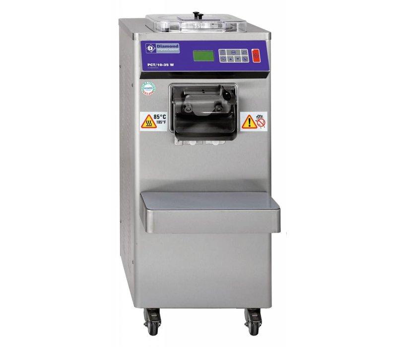 Diamond Pasteurisator en IJsmachine - 35 liter/uur - watercondensatror