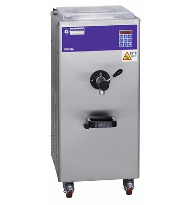 Diamond Pasteurisator - 30 Liter/uur - luchtcondensator