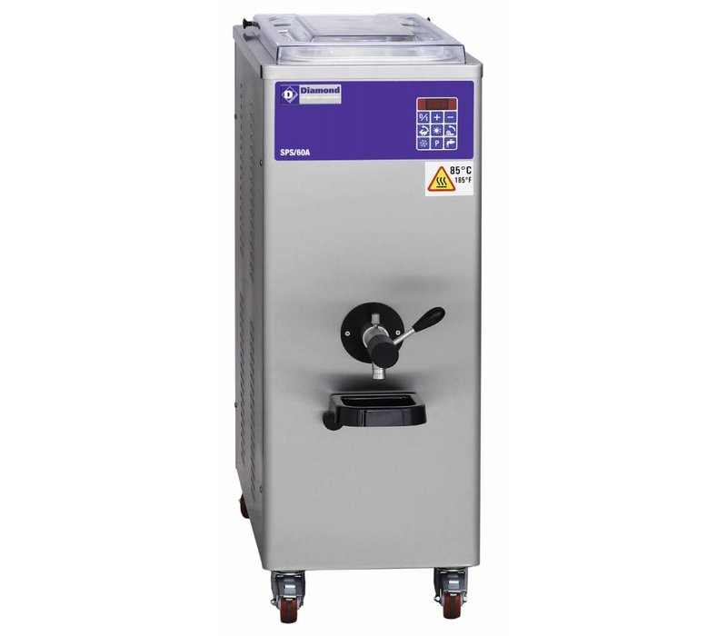 Diamond Pasteurisator - 60 Liter/uur - luchtcondensator