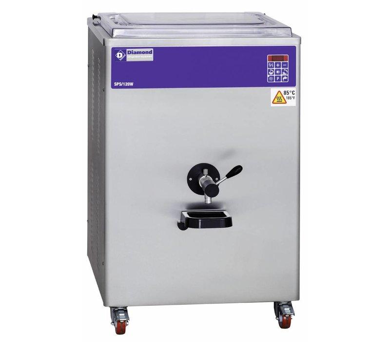 Diamond Pasteurizer - 120 liters / hour - water condenser
