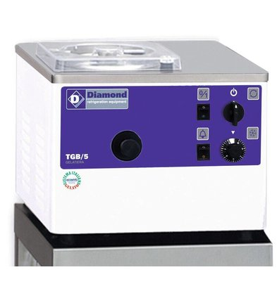 Diamond Eismaschine - 5liter / h - Wasserkühler - Tischplatte