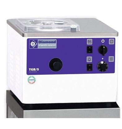 Diamond IJsmachine - 5liter/uur - watercondensator - tafelmodel