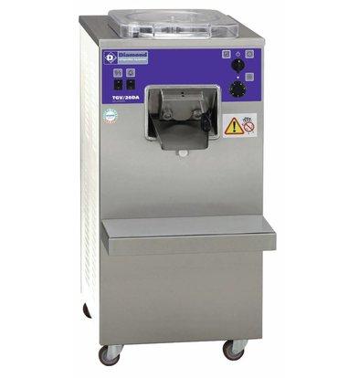 Diamond IJsmachine - 20liter/uur - luchtcondensator | 400 volt