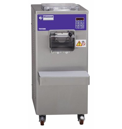 Diamond Ice Machine - 35liter / hour - water condenser