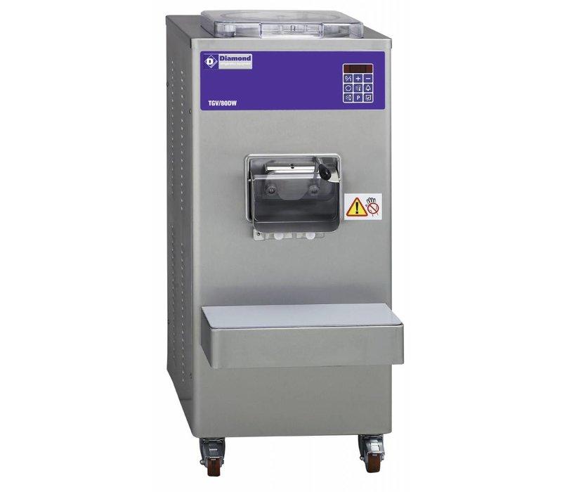 Diamond IJsmachine - 80liter/uur - watercondensator