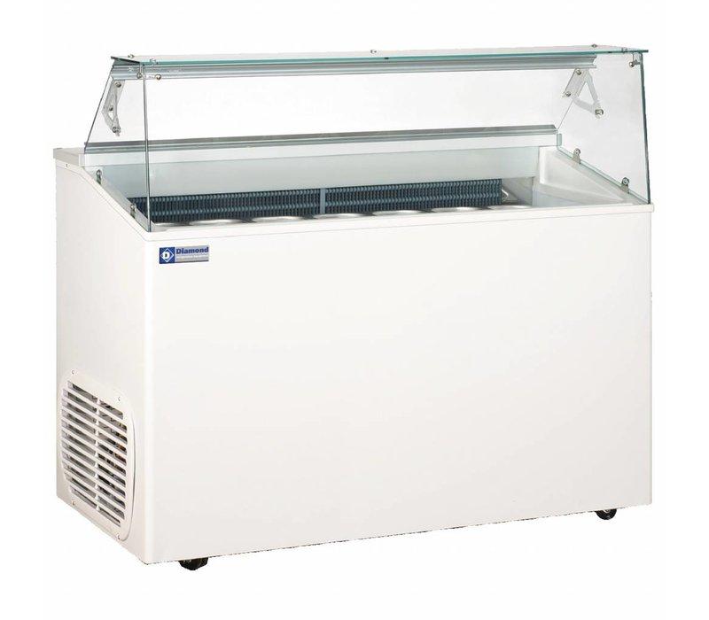 Diamond Unit Leveling For Ice Cream | 7 Baking | Polyurethane Insulation | 1367x690x (H) 1175mm