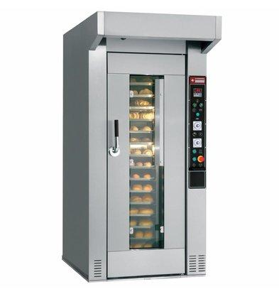 Diamond Bakkerij Oven - Wagenoven - 60/80 niveau's - 400v - 135x204x(h)254cm
