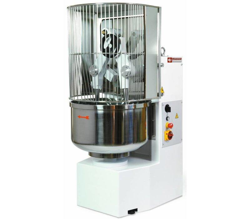 Diamond Bakkerstrog | Inkantelbare Armen | Grote capaciteit | 2,2 kW | 730x1050x(h)1700 mm