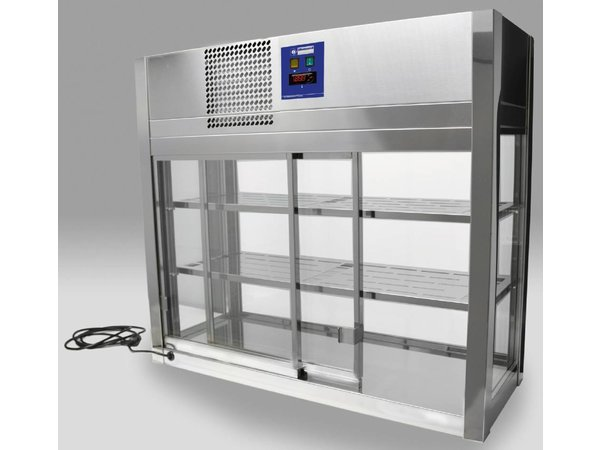 Diamond Self Service Refrigerated display case automatic closure - 80x41x (h) 92cm