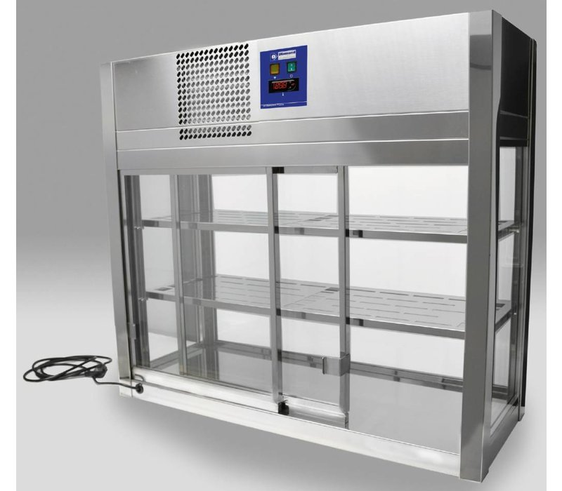 Diamond Koelvitrine Self Service automatische sluiting - 80x41x(h)92cm