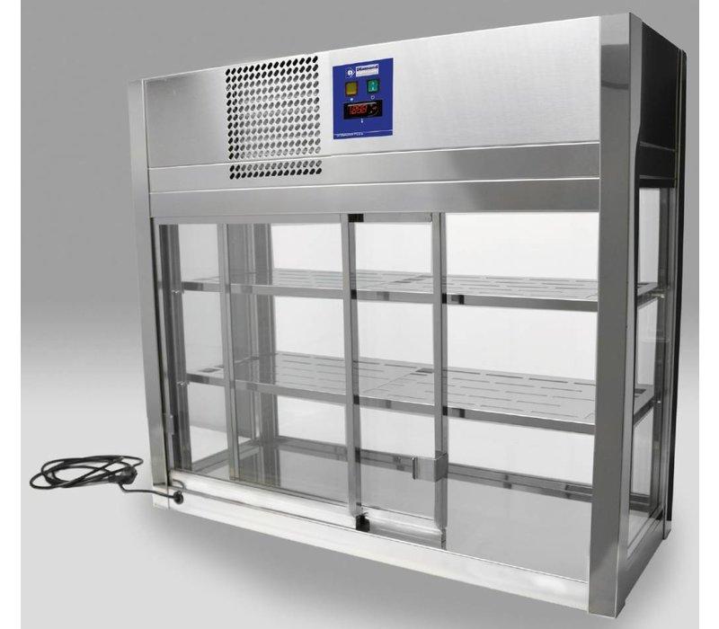 Diamond Koelvitrine Self Service automatische sluiting - 100x41x(h)92cm