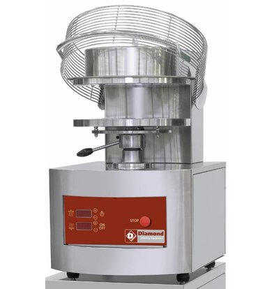 Diamond Pizza Grain crusher / pizza Form | 350 mm | 3,8 Kw | 500x610x (H) 770mm
