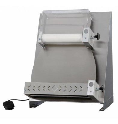 Diamond Pizza / Deegroller Linear 2 rollen - 420mm - 530x530x(h)730mm