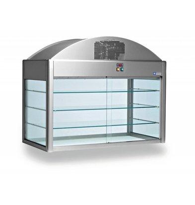 Diamond Neutral Showcase   With Bottom   1410x730x (h) 1150 mm   0.1 kW