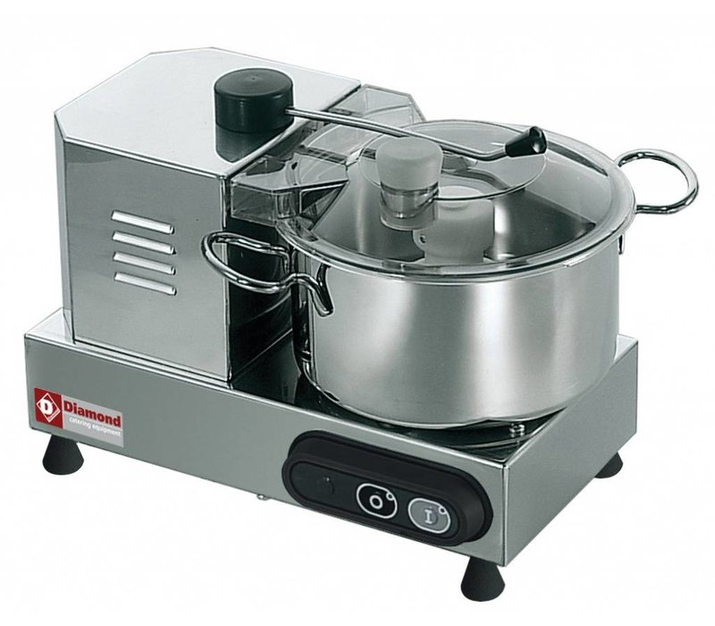 Diamond Stainless steel cutter | 4 Liter | 2600 RPM | 320x380x290 (h) mm