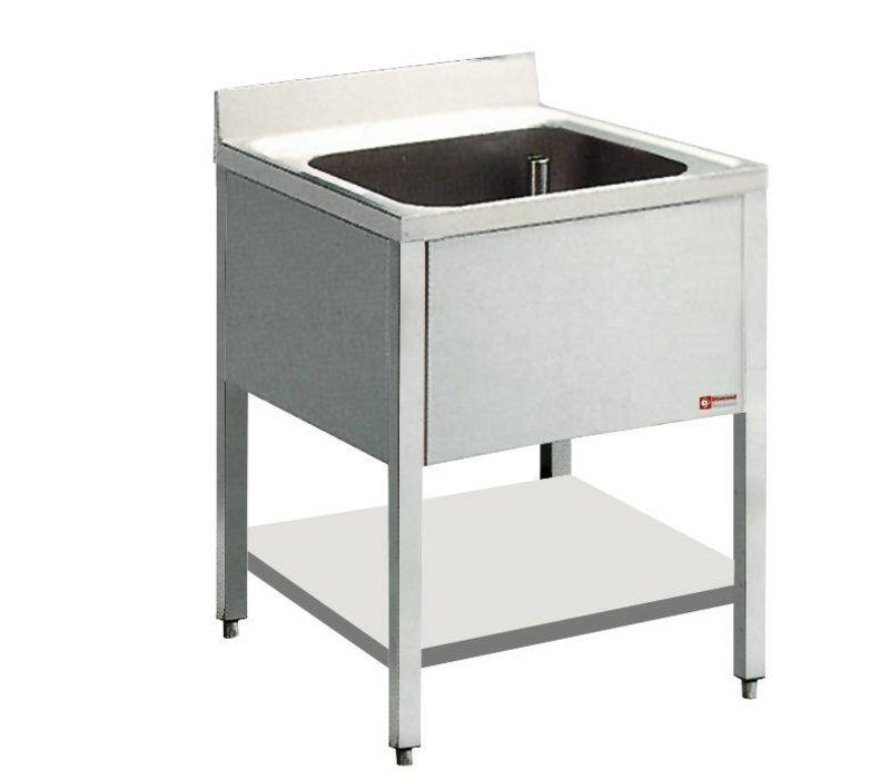 Diamond Sink Stainless Steel - 1 container - 700x700x900 (h)