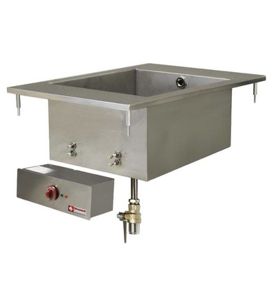 Diamond Bain-Marie GN1 / 1 | 150mm deep | Drop-in | 230V / 1,5kW | 400x600mm