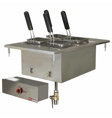 Diamond Nudelkocher Elektro SS | Drop-in | 20 Liter | 400V / 6 kW | 400x600mm