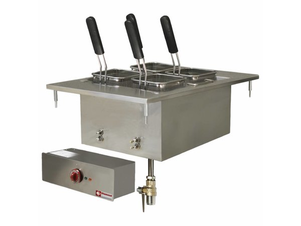 Diamond Pasta Cooker Electric SS | Drop-in | 20 Liter | 400V / 6kW | 400x600mm