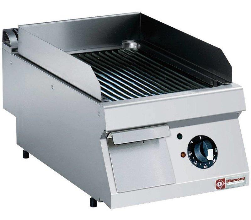 Diamond Edelstahl Kocher | gerippt | Tischplatte | 400V / 4,5 kW | 400x700x250 / 320 (h) mm