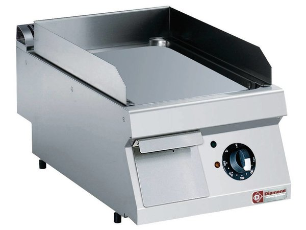 Diamond Stainless steel cooker | smooth | tabletop | 400V / 4,5 kW | 400x700x250 / 320 (h) mm