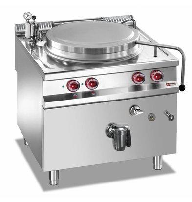 Diamond Kochkessel Elektro-SS | 150 Liter | Indirekte Heizung | 14,4kW | 800x900x850 / 920 (h) mm