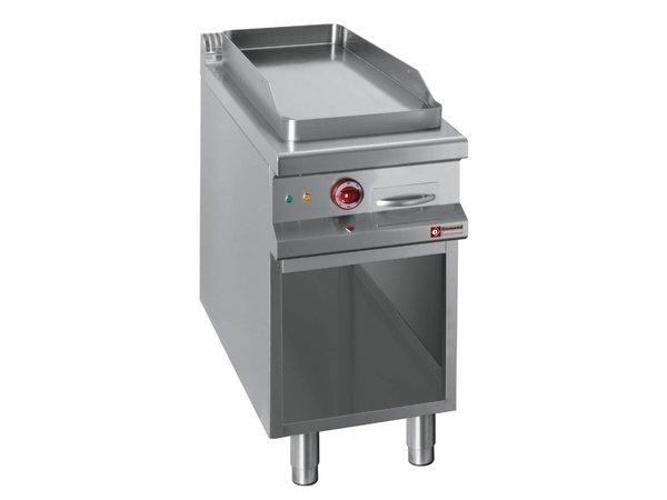 Diamond Bakplaat   Elektrisch   Vlakke Bakplaat   400V   Open Kast   400x900x(h)850/920mm