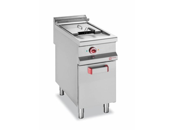 Diamond fryer | electric | 20 liter | 400-230V | 16kW | substructure | 400x900x (h) 850-920