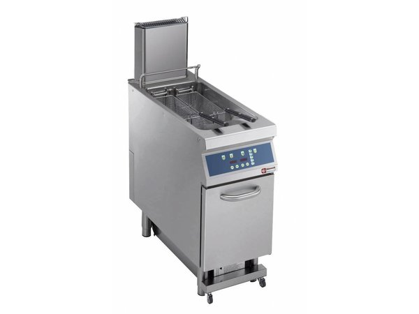 Diamond fryer | electric | 23 Liter | 400V | 18kW | On chassis | digital | 400x900x (h) 850 / 1200mm
