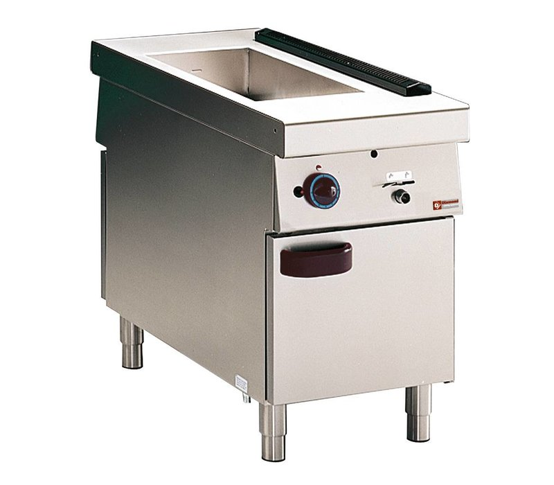 Diamond Bain Marie | 1 x GN 2/3 + 1/2 GN | Gas | With Mount | 3kW | 500x1100x (h) 850mm