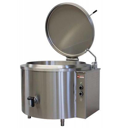 Diamond Kookketel Elektrisch Rond | 300 Liter | 36kW/400V | Ø1200x900(h)mm