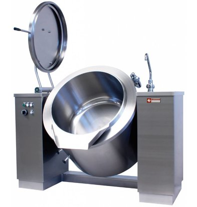 Diamond Tiltable Cooking Boiler | 300 liters | 36.5kW / 400V | 1950x1200x1150 (h) mm