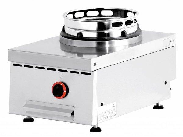 Diamond Wok-Brenner Gasherd 1 Tabletop - 1 x 15KW