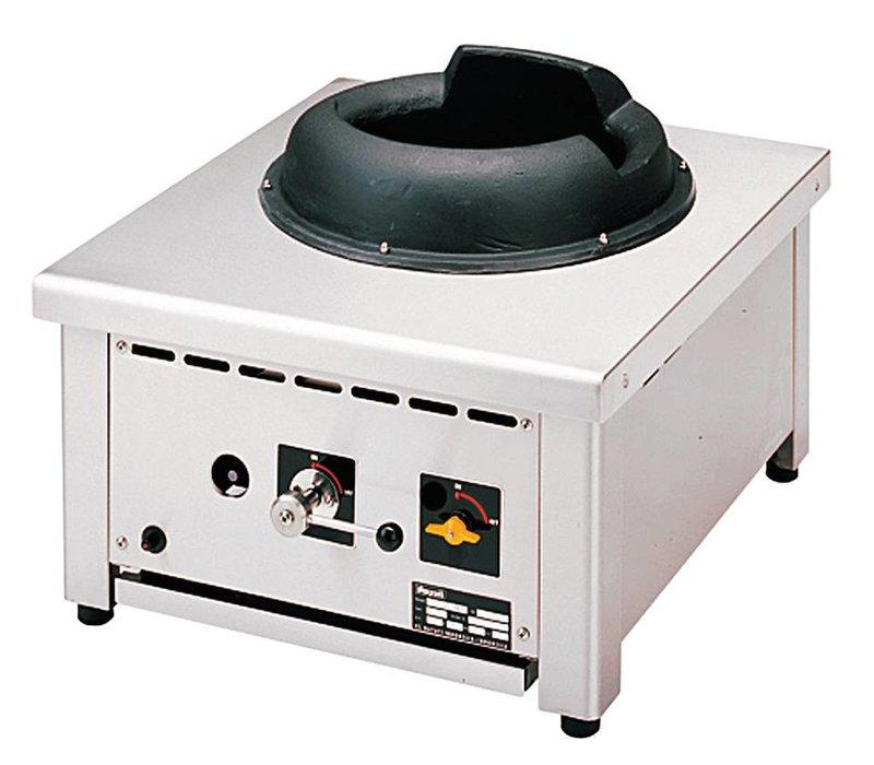 Diamond Gas Wok Fornuis 1 Brander Tafelmodel - 28KW