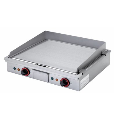 Diamond Teppanyaki Grill Elektro 2 x 2,7 KW Tabletop - 58x50cm