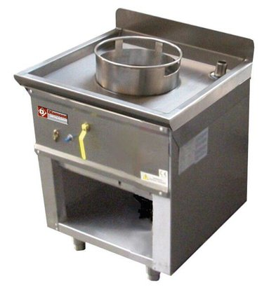Diamond Wok burner gas cooker one 23KW - Open Frame