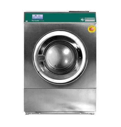 Diamond Hotel Wasmachine 14 kg RVS - Krachtig - 400v - 880x1010x(h)1264mm