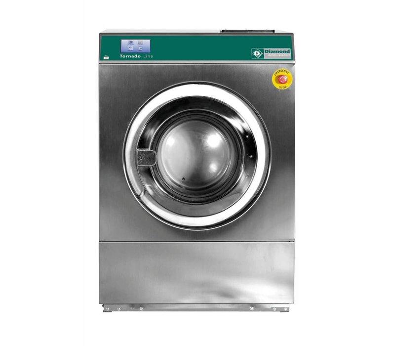 Diamond Hotel Waschmaschine 14 kg Edelstahl - Leistungsstark - 400v - 880x1010x (h) 1264mm