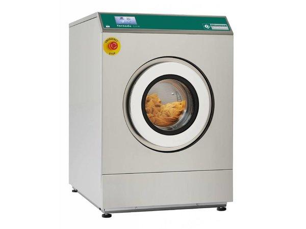 Diamond Hotel Waschmaschine 11 kg Edelstahl - Leistungsstark - 400v -720x1032x (h) 1039mm