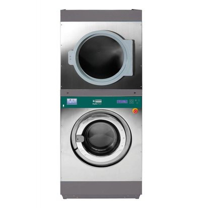 Diamond Hotel Waschmaschine 14 kg und 14 kg Trockner Hotel - 880x976x (h) 2141mm