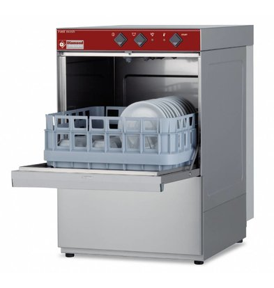 Diamond Glasswasher | 40x40cm | 43x53x (h) 66cm | Cycle 150 sec | Made in Italy
