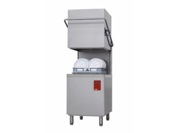 Diamond ECO Korbdurchschub- Spülmaschinen | 71x74x (h) 151 / 195cm | Jacketed | Zyklus 60/120 sec