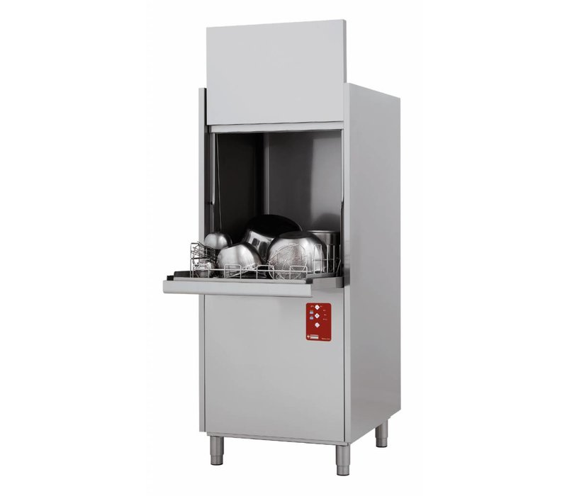 Diamond Pot-Waschhaus Twin Wand - 61x55cm Körbe - 400V - 720x780x (h) 2030cm