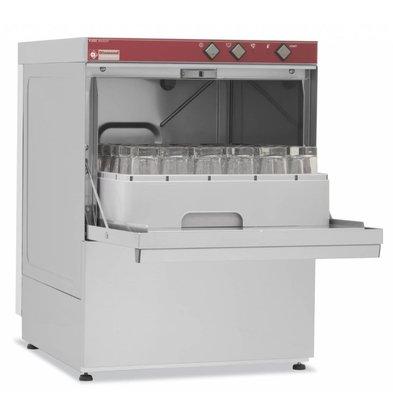 Diamond Glasswasher | 40x40cm | 53x58x (h) 71cm | Drain pump | Made in Italy