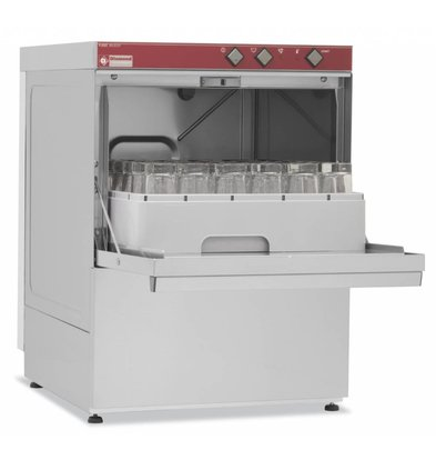 Diamond Glasswasher | 40x40cm | 53x58x (h) 71cm | Loading height 30cm | Made in Italy